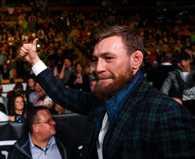 McGregor wants to rebuild his reputation after a series of unsavoury incidents