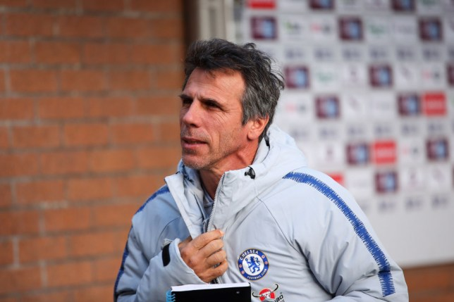 Gianfranco Zola shocked that Chelsea allowed 'leader' David Luiz to join Arsenal