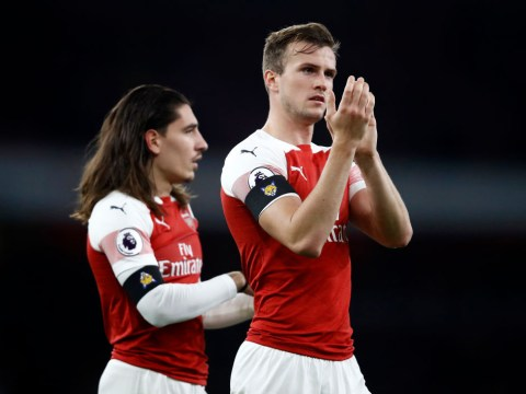 Arsenal provide positive injury updates on Hector Bellerin, Kieran Tierney and Rob Holding