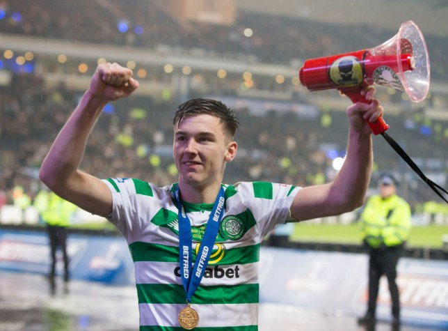 Arsenal hope to sign Celtic star Kieran Tierney before the summer transfer window closes
