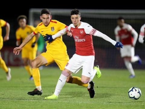 Juventus and AC Milan show interest in Arsenal teenager Sam Greenwood