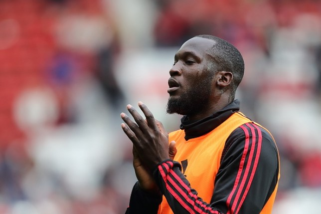 Romelu Lukaku applauds Manchester United fans at Old Trafford