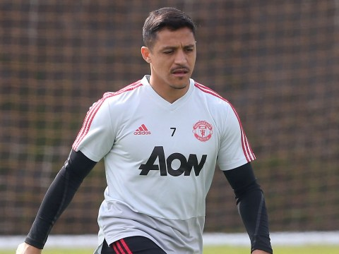 Ole Gunnar Solskjaer watches Alexis Sanchez play in behind-closed-doors match amid Inter Milan speculation