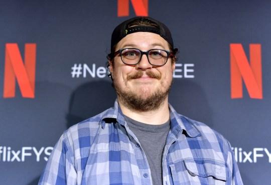 Cameron Britton at the screening of Netflix's Umbrella Academy where he plays the assassin Hazel