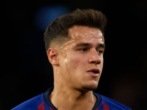 Tottenham looking to beat Arsenal to the signing of Philippe Coutinho on loan from Barcelona