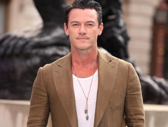 Luke Evans working on debut album as he shares studio snap and we stan so hard
