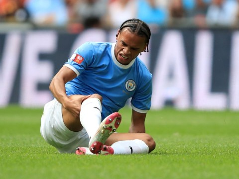 Pep Guardiola provides Leroy Sane injury update as Aymeric Laporte status remains unclear