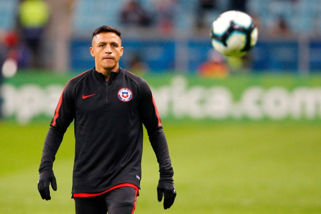 Alexis Sanchez appears set for an exit from Manchester United