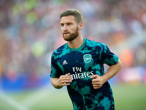 Shkodran Mustafi's agent provides update on Arsenal flop's future