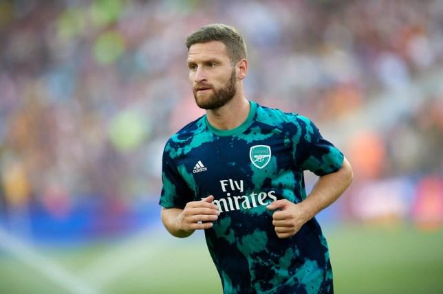 Shkodran Mustafi has been told to seek a new club by Unai Emery
