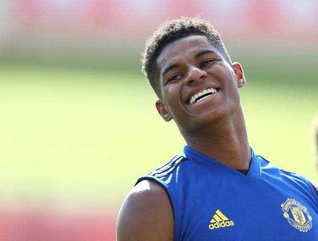 Marcus Rashford rates Manchester United's summer transfer business