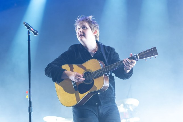 Lewis Capaldi hits 'new low' as he 'p****s his pants' live on stage