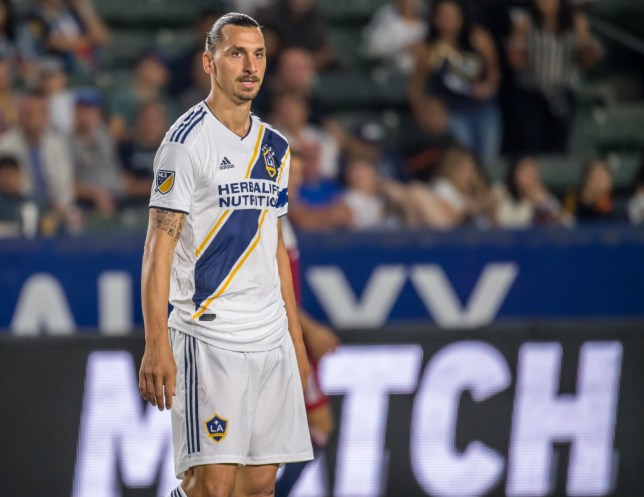 the best attitude 0c796 381bf Zlatan Ibrahimovic tells LA Galaxy team-mate Cristian Pavon ...