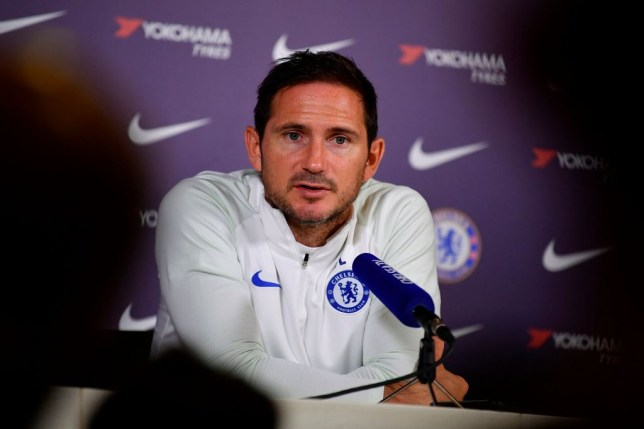 Frank Lampard reacts to Chelsea's difficult Champions League group stage draw