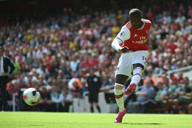 Nicolas Pepe joined Arsenal from Lille this summer