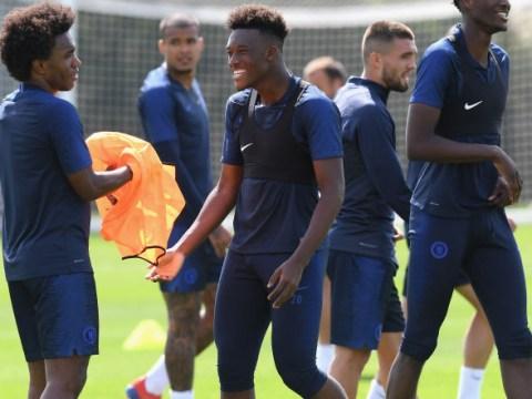 Callum Hudson-Odoi returns early to Chelsea training