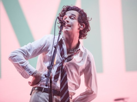 The 1975's Matty Healy defies Dubai's anti-LGBTQ+ laws to kiss male fan on the lips