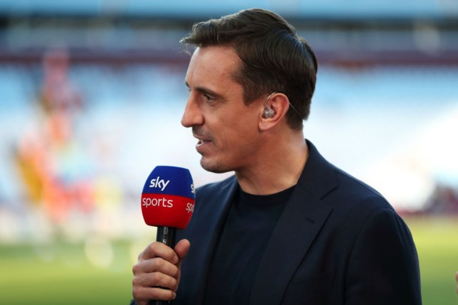 Gary Neville tells Unai Emery to drop four Arsenal players for Liverpool clash