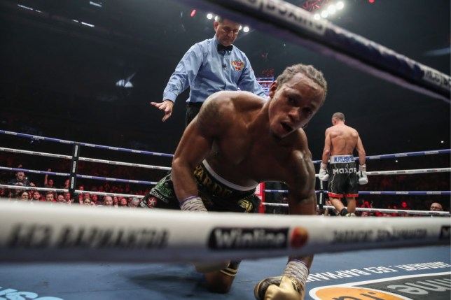 Anthony Yarde suffered his first pro defeat in Russia