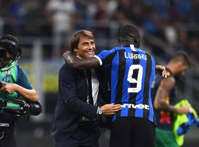 Antonio Conte is delighted with Romelu Lukaku's start at Inter Milan following his move from Manchester United