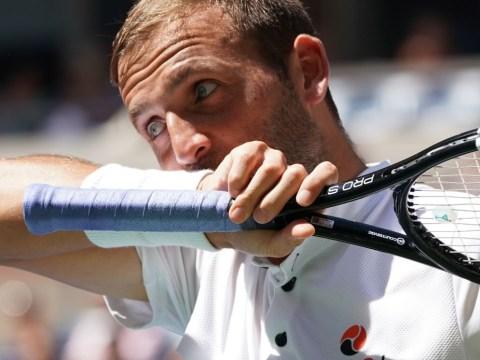 Dan Evans frustrated by US Open scheduling after Roger Federer thrashing