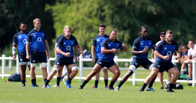 The England squad have been made to sweat from day one in their Italian training camp