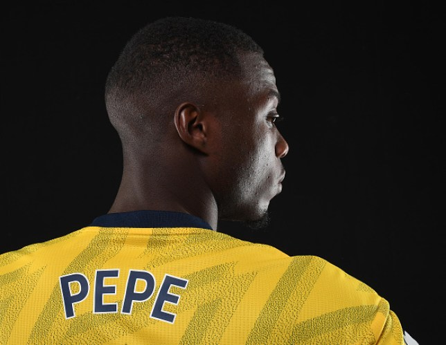 Arsenal have smashed their transfer record to sign Nicolas Pepe from Lille