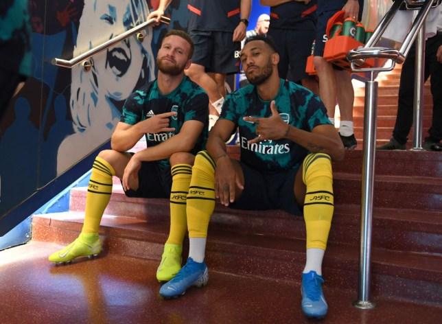 Arsenal are keen to sell Shkodran Mustafi