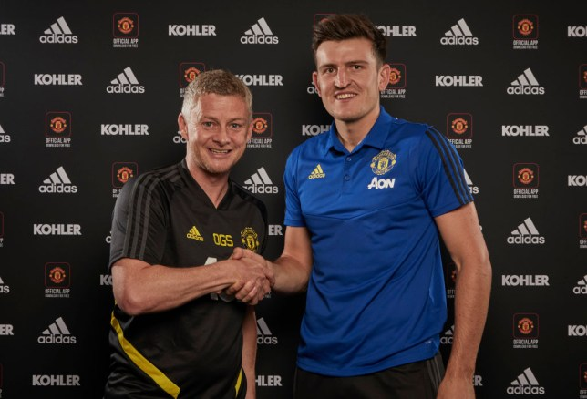 Ole Gunnar Solskjaer was desperate for Manchester United to sign Harry Maguire