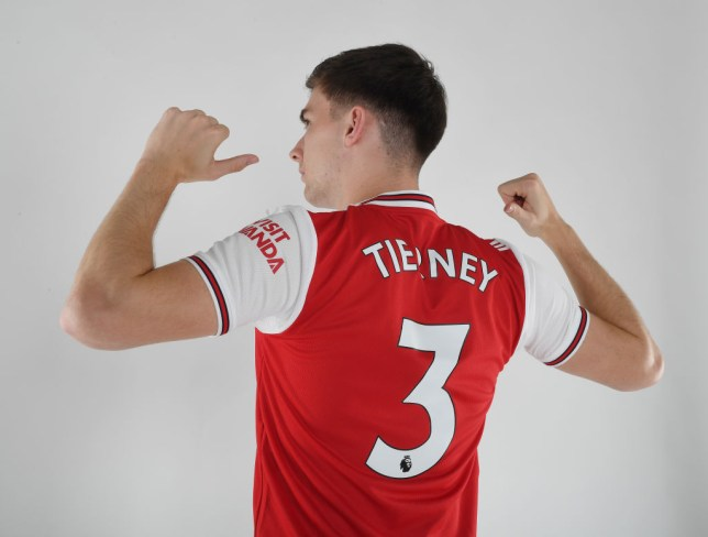 Kieran Tierney completed his move from Celtic to Arsenal on transfer deadline day