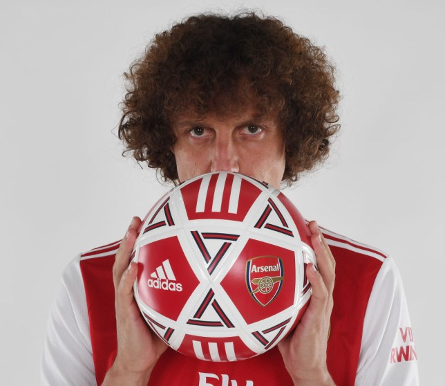 New Arsenal signing David Luiz is in contention to face Newcastle United