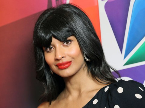 Jameela Jamil is proud to show off her 'back fat' in un-airbrushed billboards for The Good Place