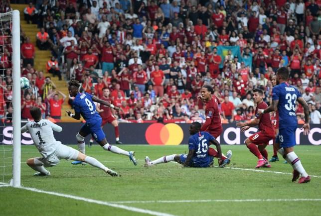Kepa Arrizabalaga pulls off save of the season to deny Virgil van Dijk in Super Cup
