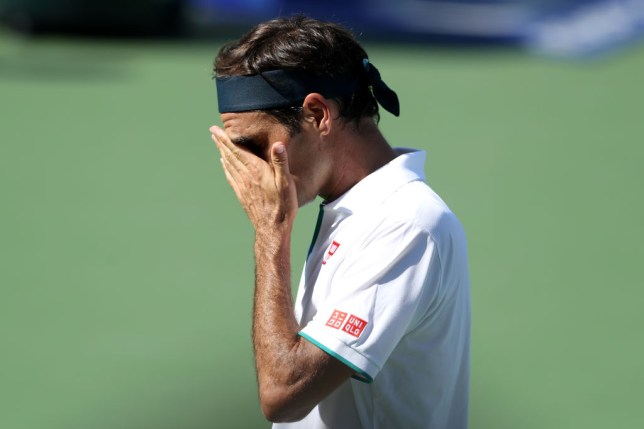 Roger Federer reacts to his quickest defeat in 16 years after being stunned by Andrey Rublev