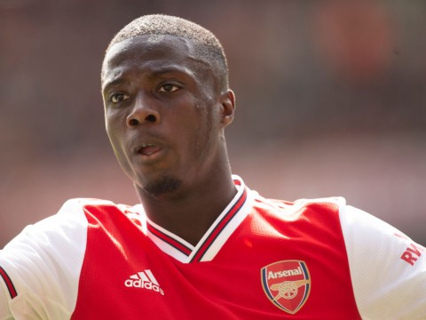 Nicolas Pepe says he already has a telepathic understanding with Arsenal star Alexandre Lacazette