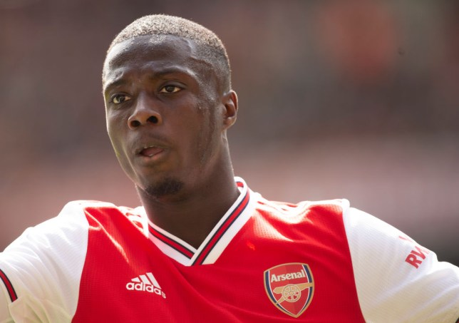 Nicolas Pepe reveals he can already find Arsenal teammate 'with his eyes shut'