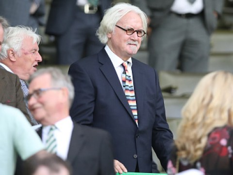 Billy Connolly smiles as he makes rare public appearance amid Parkinson's battle