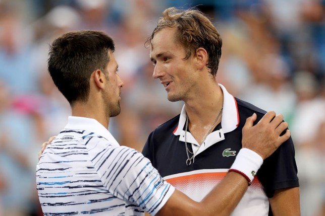Novak Djokovic Rates Us Open Chances After Falling To Daniil Medvedev In Cincinnati Metro News