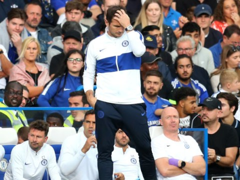 Frank Lampard calls for more 'personality' from Chelsea players after draw with Leicester City