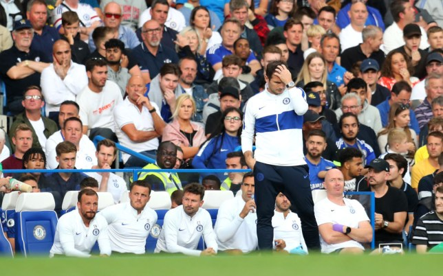 Frank Lampard is yet to win a competitive game as Chelsea boss
