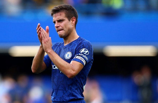 Cesar Azpilicueta captained Chelsea on Frank Lampard's return to Stamford Bridge