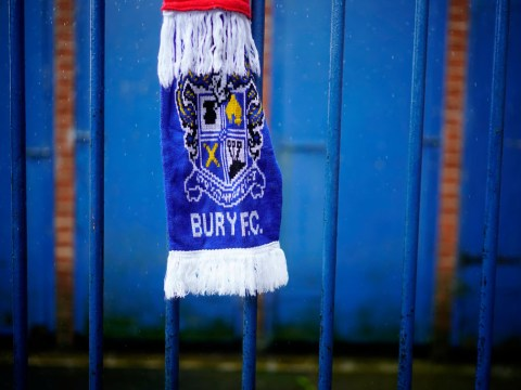 What was Bury FC's average match day attendance and why were they called The Shakers?