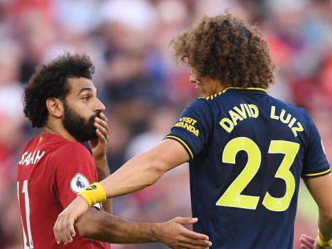 David Luiz says Mohamed Salah didn't feel shirt pull and bemoans penalty decision