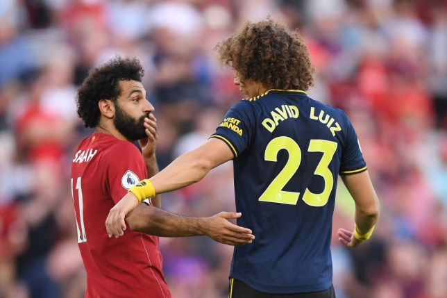David Luiz reveals what he told Mohamed Salah after penalty decision