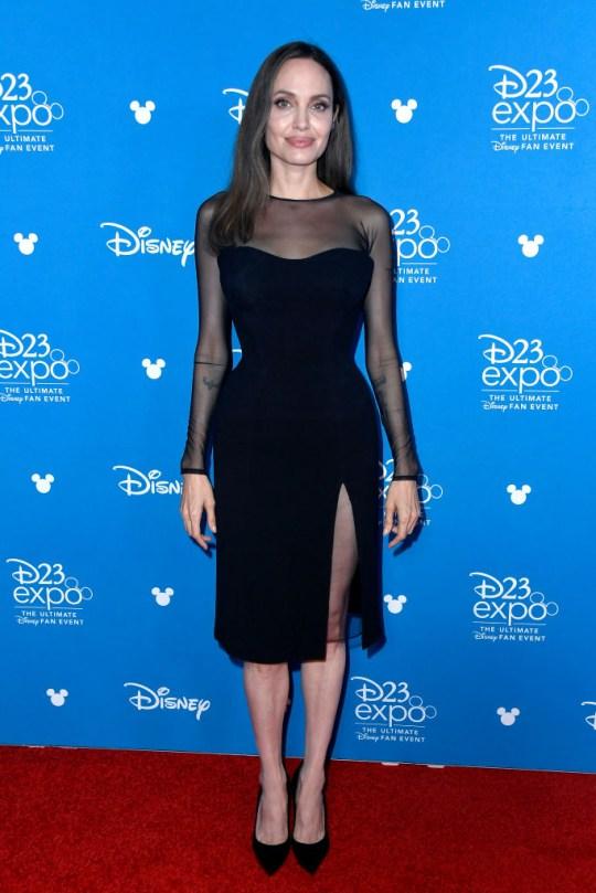 Angelina Jolie at Disney's D23 Expo
