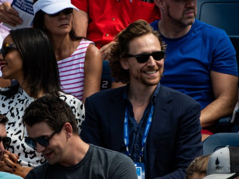 Johanna Konta explains why Tom Hiddleston was in her box as Dan Evans joins her in round two