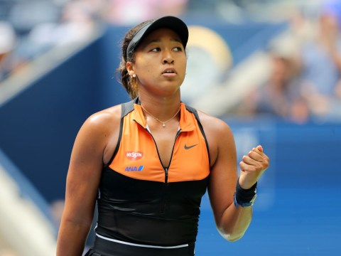 Defending US Open champion Naomi Osaka digs deep to advance as Garbine Muguruza crashes out