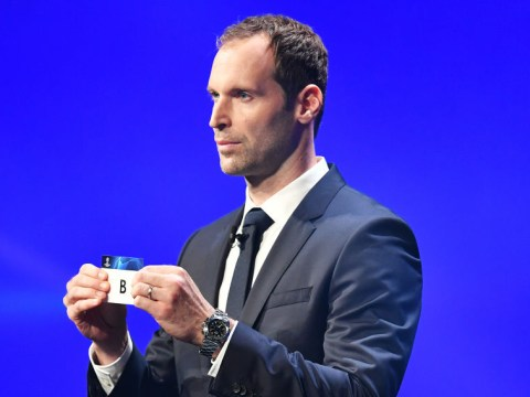 Petr Cech reacts to Chelsea drawing Ajax, Valencia and Lille in Champions League