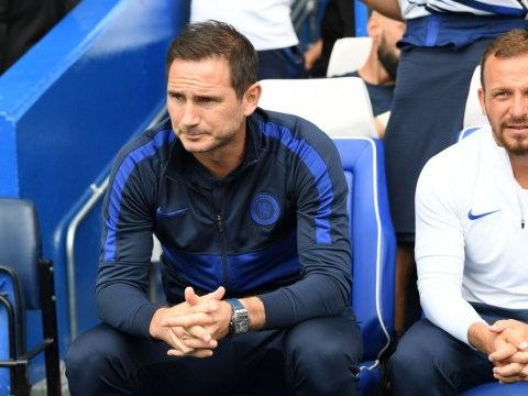 Frank Lampard names record-breaking Chelsea starting line-up