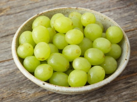 Mum warns parents to cut up grapes after four-year-old daughter nearly dies eating a whole one